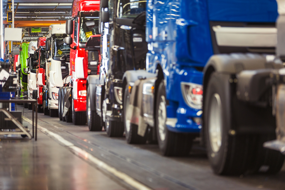 Truck manufacturing plant modernization in North America ...