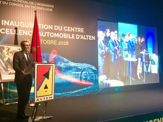 Inauguration d'un ALTEN Delivery Center dédié à l'Automobile à Rabat