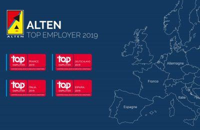 Le Groupe labellisé Top Employer© dans 4 pays d'Europe