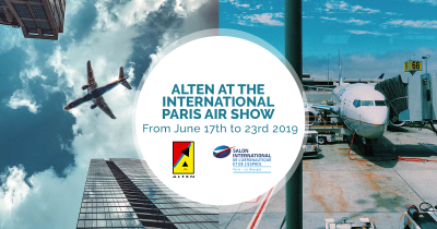 ALTEN at the 53rd International Paris Air Show