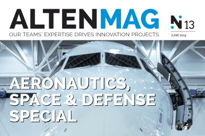 ALTEN Mag Aeronautics, Space and Defense Special: discover our teams' projects