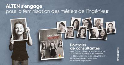 Histoires de Femmes Ingénieures : portraits de consultantes ALTEN