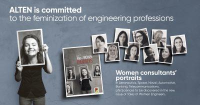 Tales of Women Engineers: portraits of ALTEN's women consultants